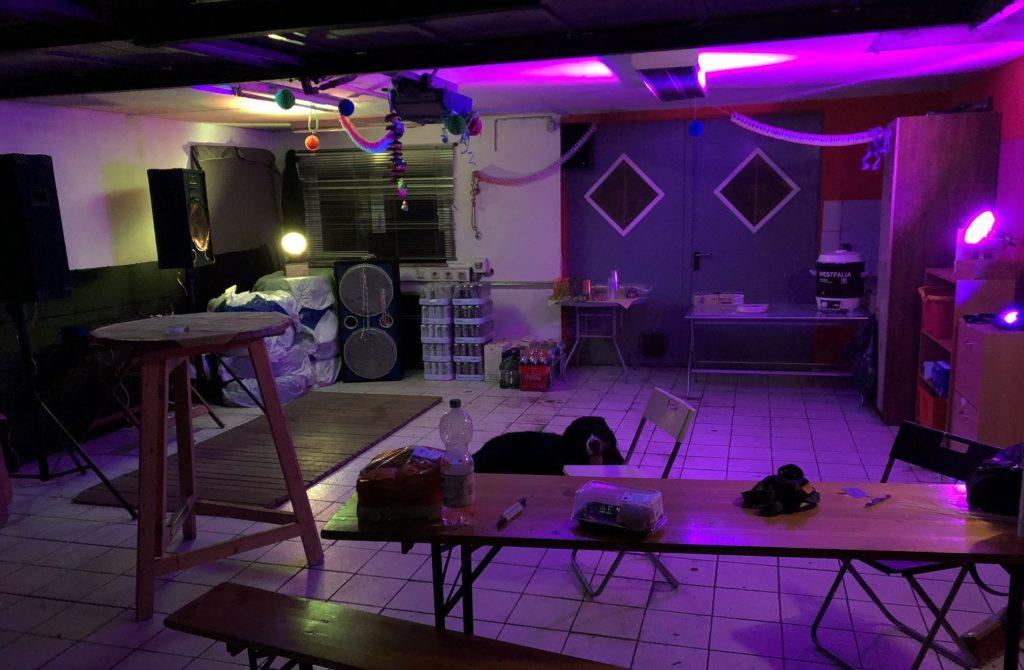 Garagenparty