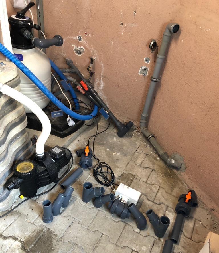 PVC Einzelteile Vorbereitung
