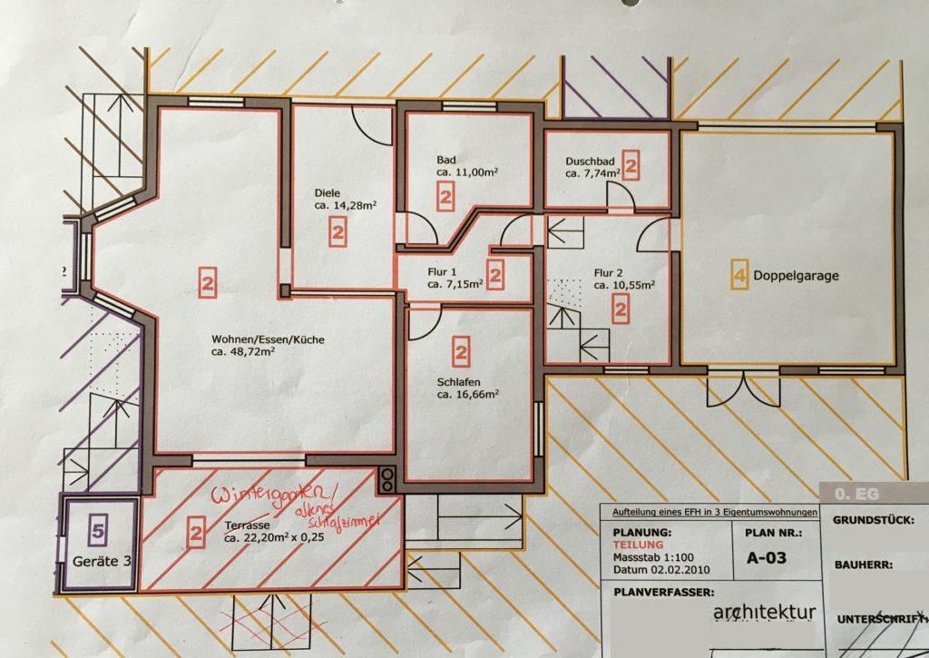 SL31 Plan Wohnung im Erdgeschoss
